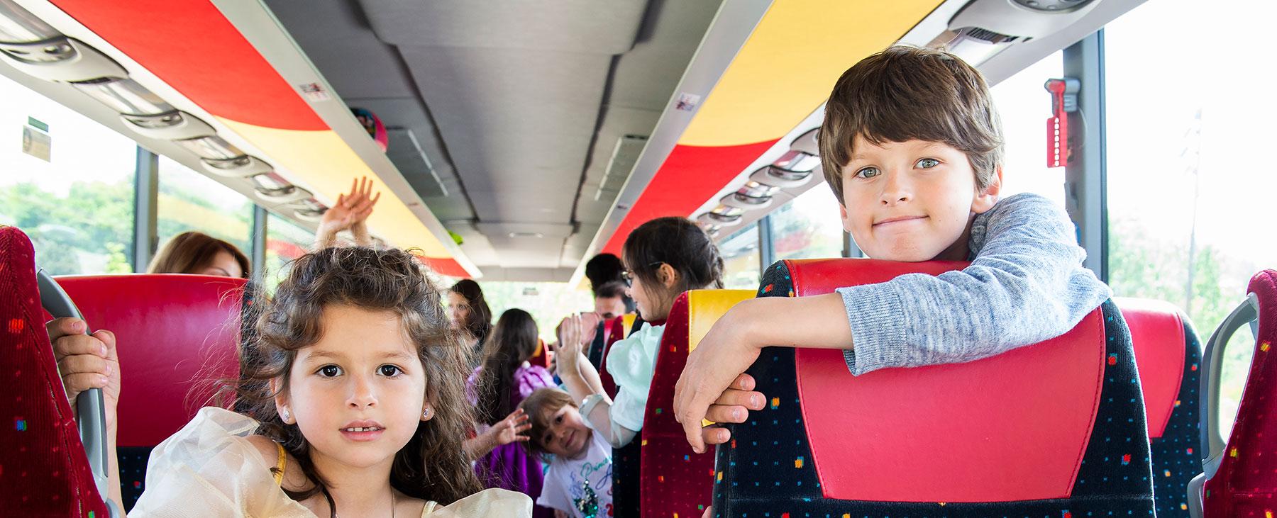 Magical Shuttle bus